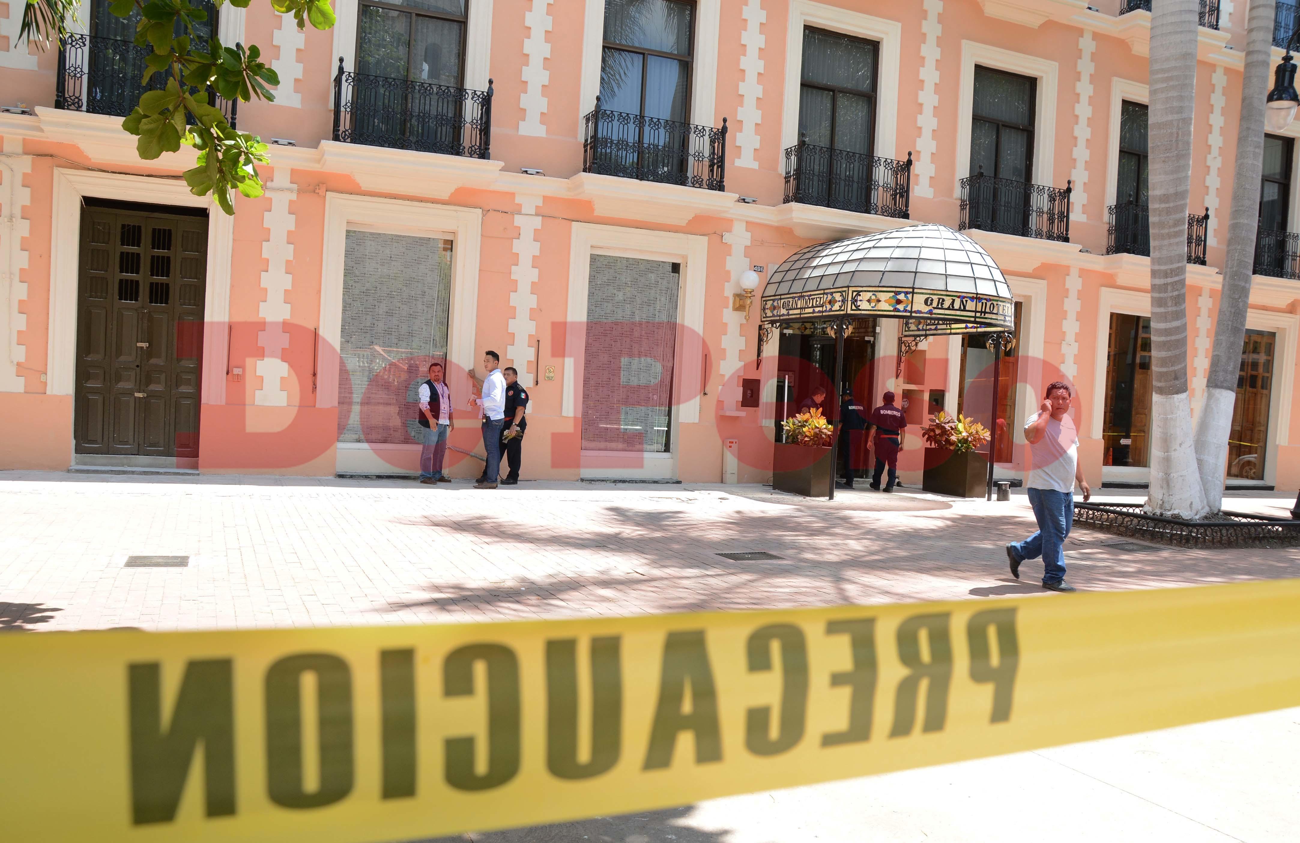 evacuación por fuga de gas en hotel de Mérida