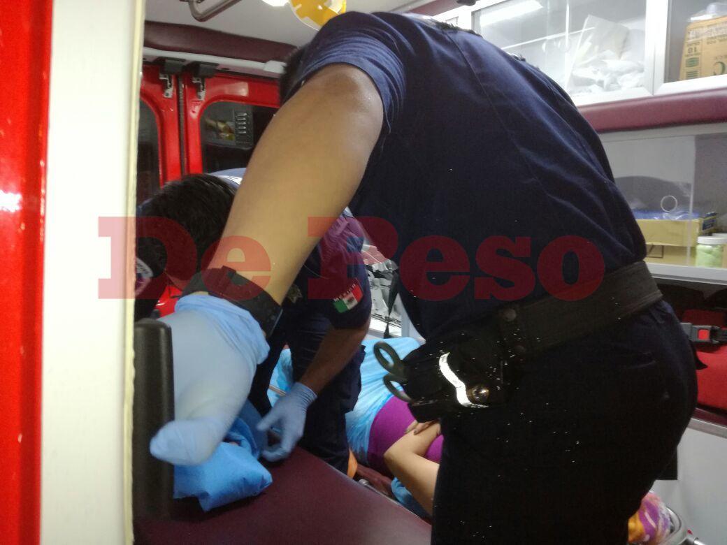 nace bebé en ambulancia en Circuito Colonias