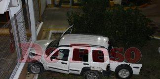 choca en Circuito Colonias con Avenida Aviación de Mérida
