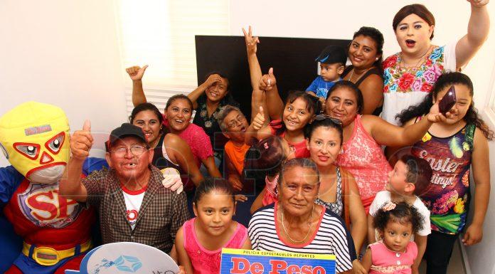 entregan casa de concurso de De Peso a don Ynocencio Yah Cob