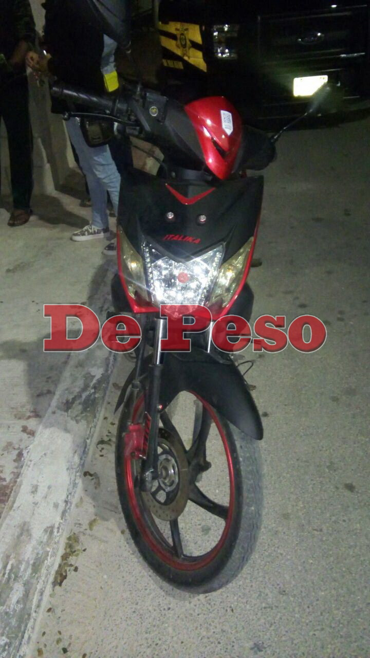 recuperan moto robada en Tizimin