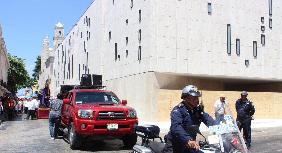 reporta la Policía Municipal de Mérida saldo blanco en Semana Santa