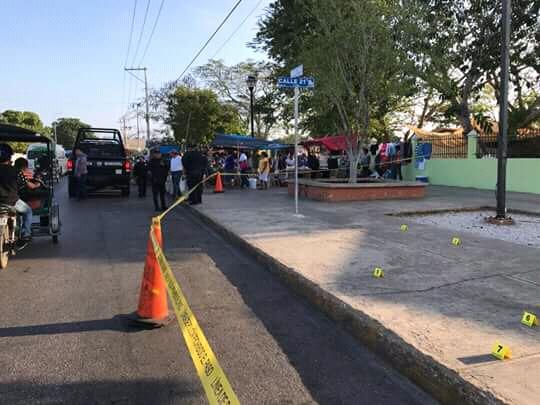 reportan ataque brutal en mercado de Umán