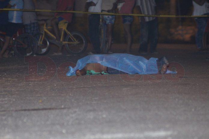 asesinato de pandillero en colonia Nueva San José Tecoh. de Mérida