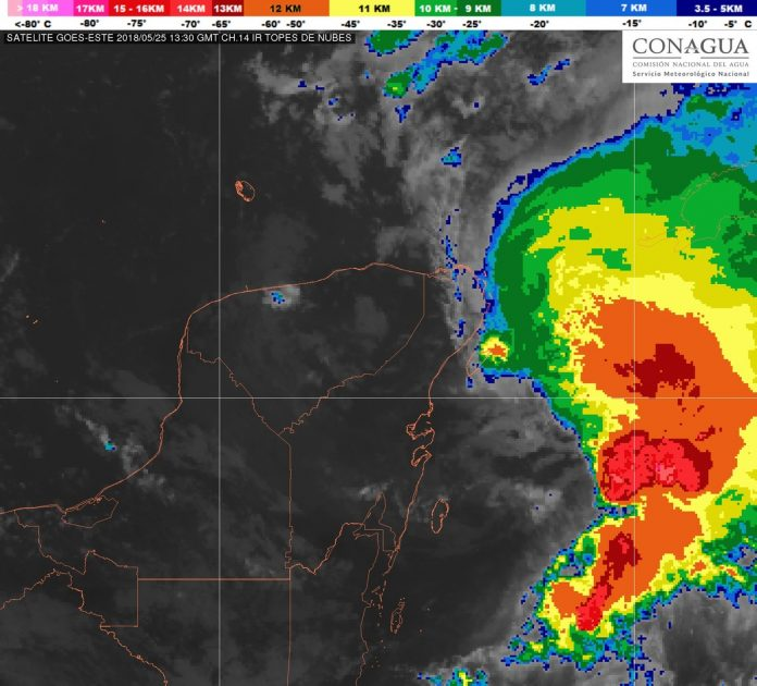 Nace el primer ciclón de la temporada: se llama Alberto