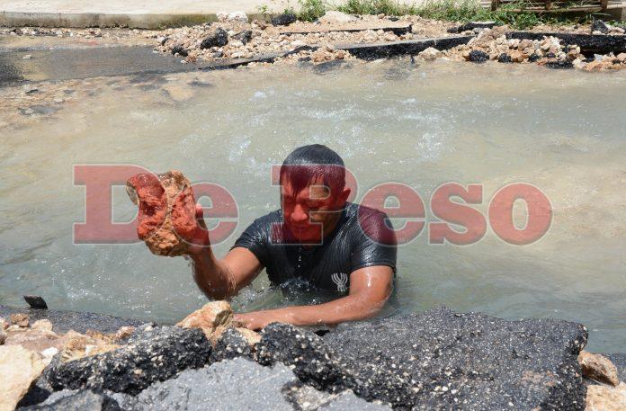 fuga de agua en Mérida