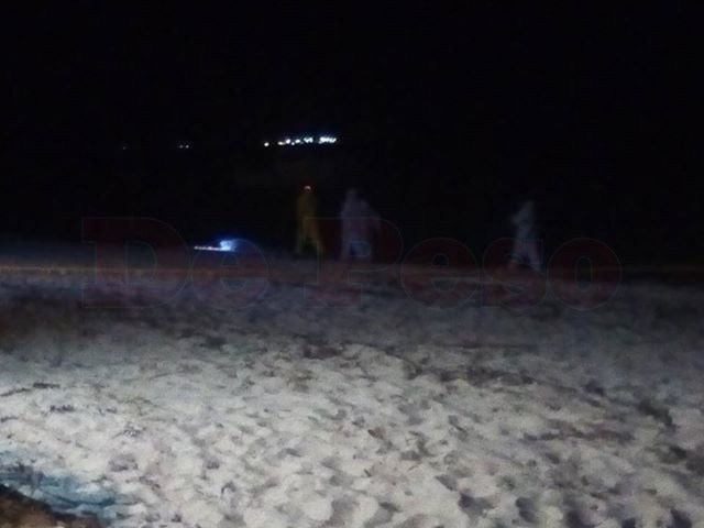 Ahogado (¿suicidio?) en playa yucateca