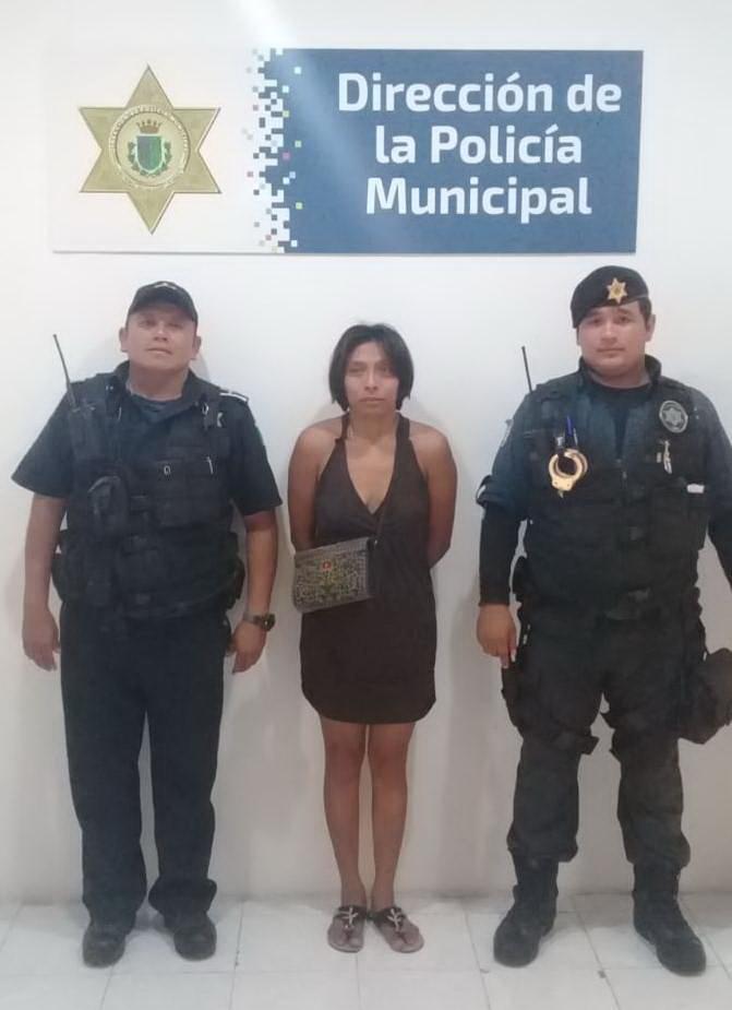 encuentra la Policía Municipal de Mérida a mujer