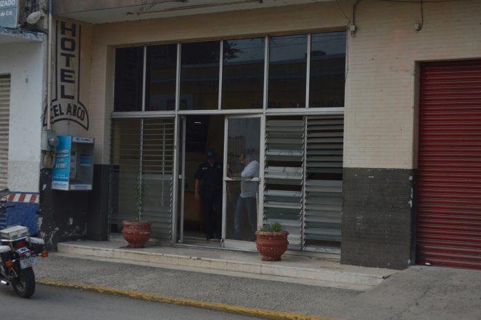 muerto en hotel del centro de Mérida