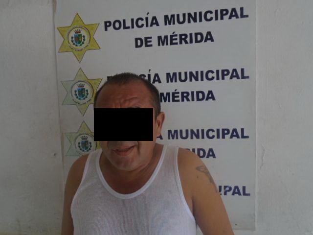 detenido por abuso sexual en Plaza Grande de Mérida