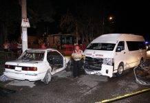 Borrachazo deja 3 lesionados en la Amalia Solórzano