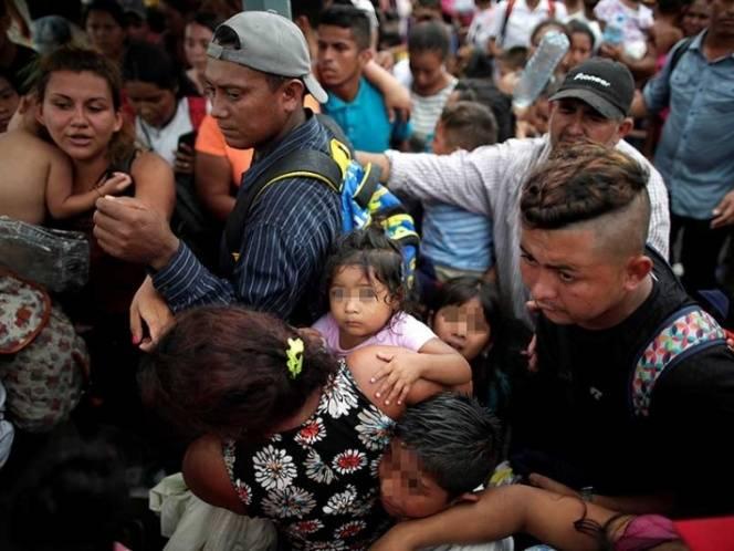 Alcaldesa de Suchiate pide 'autsilio' para migrantes