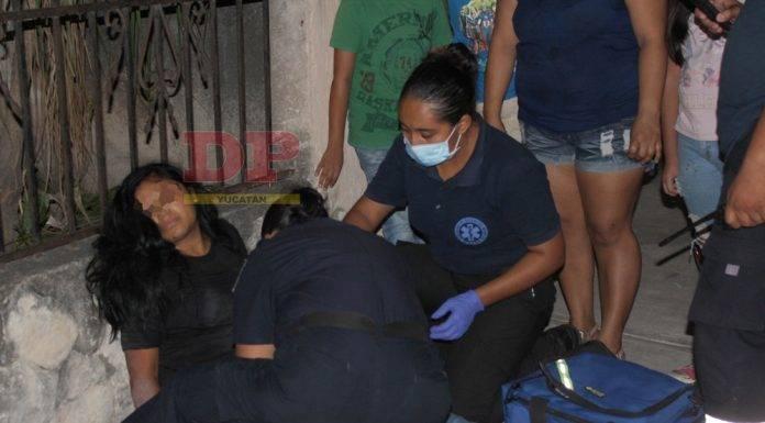 Agente policiaco ebrio choca a joven motociclista en Motul