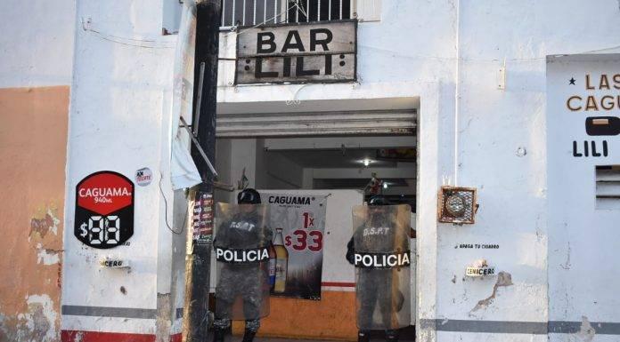 Un operativo de revisión de bares y cantinas en Progreso concluyó sin mayor sobresalto.
