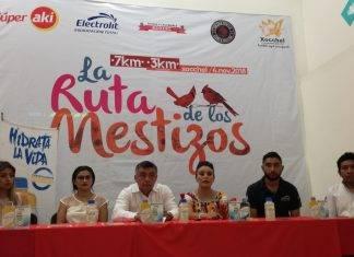 La carrera 'Ruta de los mestizos' se realizará en Xocchel el 4 de noviembre.