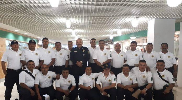 Un grupo de polis municipales de Mérida viajaron a Gringolandia a mejorar su forma de trabajar.