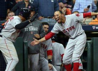 Los Medias Rojas de Boston esperan al equipo al que enfrentarán en la Serie Mundial que dará inicio la próxima semana.