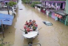 Fuertes lluvias convierten a Veracruz en Nueva Venecia