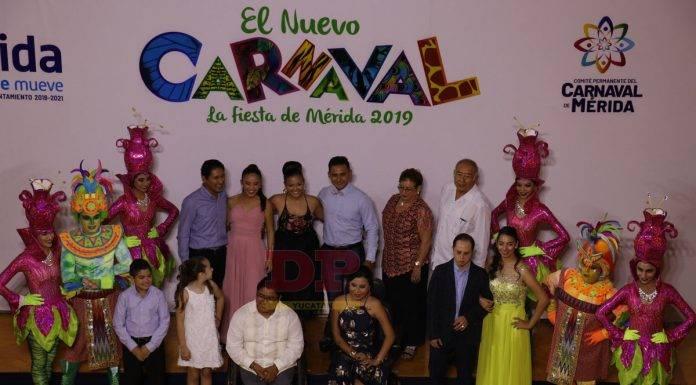 La elección de los Soberanos del Carnaval de Mérida se hizo en línea