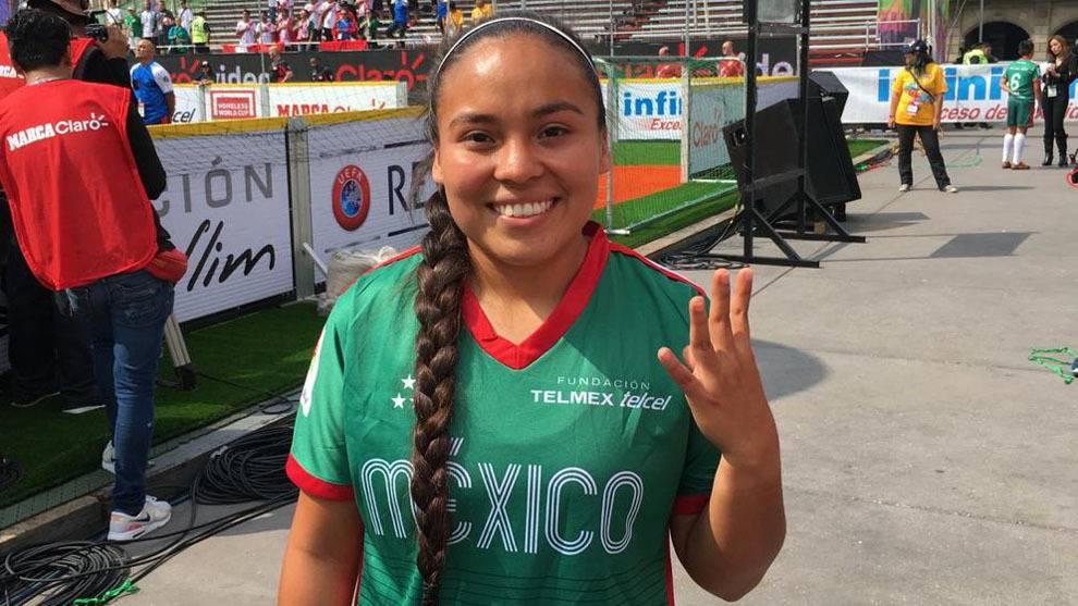 Aurora Montalvo mandó muchos saludos a los yucatecas, pues ella es orgullosamente yuca.
