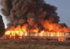 Bodega del IMSS en Durango se quema en su totalidad (video)