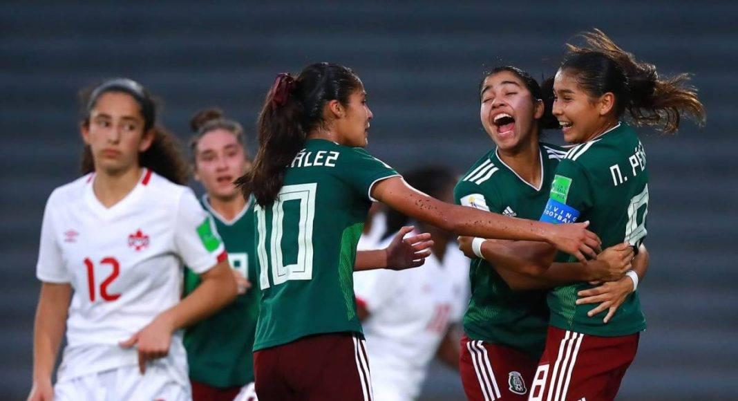 Nicole Pérez mandó a México a la final del Mundial sub-17 femenil.