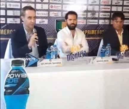 Luis Miguel Salvador y Sergio Orduña son desde hoy los nuevos directivo y entrenador de Venados de Yucatán