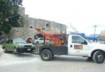 Encuentran auto robado en Izamal