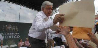 López Obrador en una actividad reciente en Nayarit.