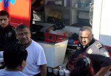 Ruco se lleva de corbata a joven motociclista, en el sur de Mérida