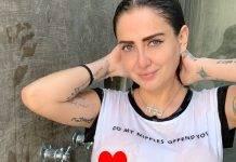 Celia Lora enciende los faros en redes sociales