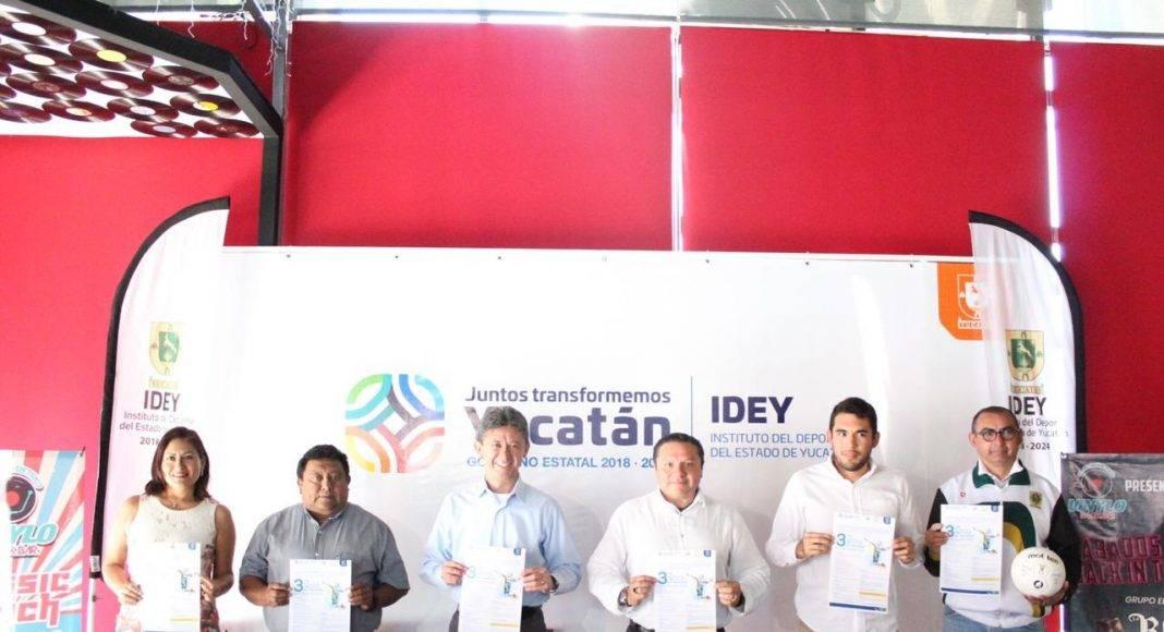 La Copa Yucatán de Handball se jugará en los complejos deportivos del Kukulcán y la Inalámbrica, así como las unidades deportivas de Caucel y San José Tecoh.