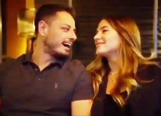 Chicharito Hernández y su pareja dieron la noticia durante una entrevista.
