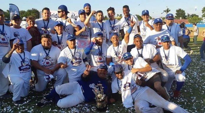Los Senadores de la Morelos ganaron su segundo título en la Liga Meridana.
