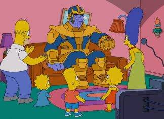 Thanos llega a Springfield (video)
