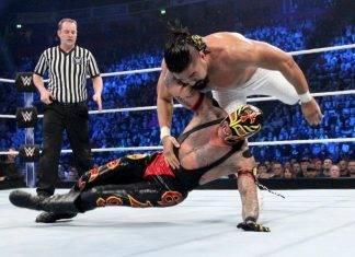 Rey Mysterio y Cien Almas se dieron en su matriz por primera vez al tratar de ganar un lugarcito en Survivor Series.