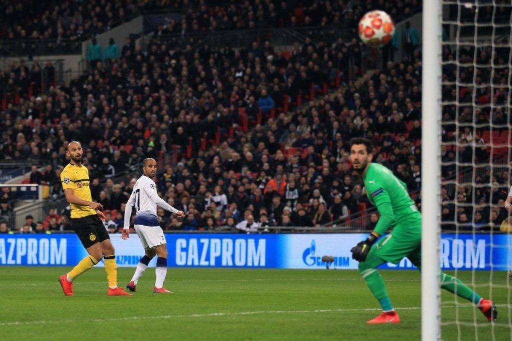Champions Arrastrada Del Tottenham Al Dortmund Y Real