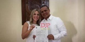 Guty con Mariana, felizmente matrimoniados.
