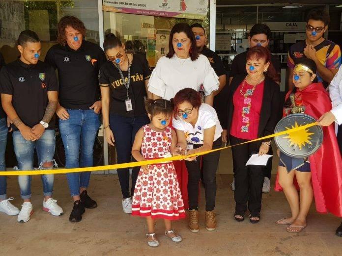 Venados, melenudos y organizadores inauguraron la campaña altruista.
