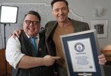 Hugh Jackman tiene el Record Guinness por interpretar a Wolverine
