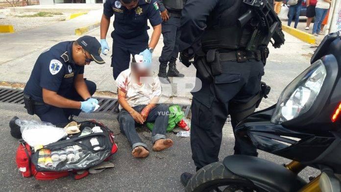 CR-Ventó la chola en la avenida Itzaes