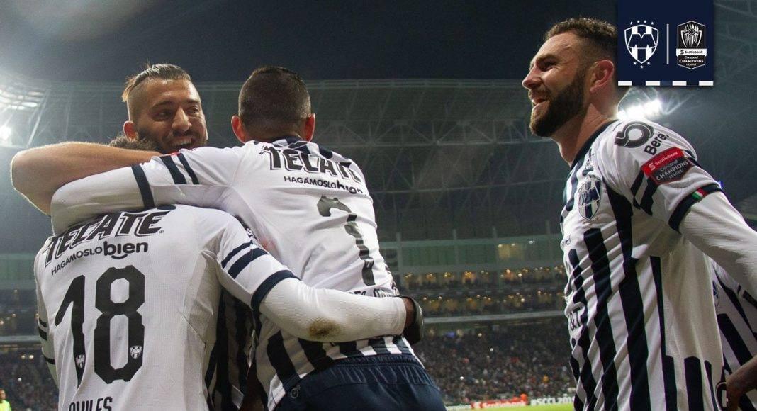 Rayados ganaba por solo un gol de diferencia durante casi todo el partido.