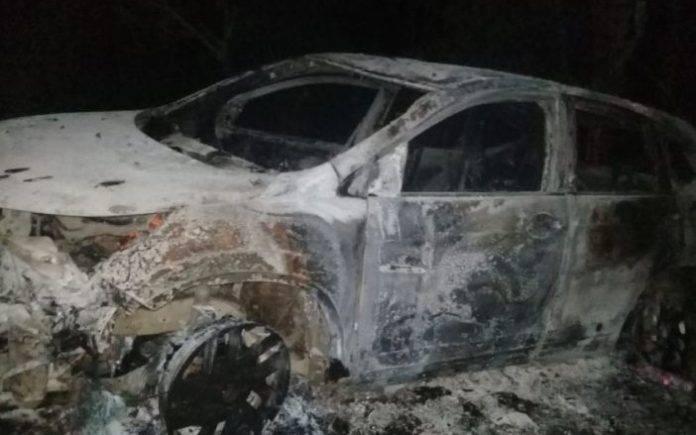 En el auto acribillaron a cuatro personas y una bebé sobrevivió pero fue reportada en estado grave.