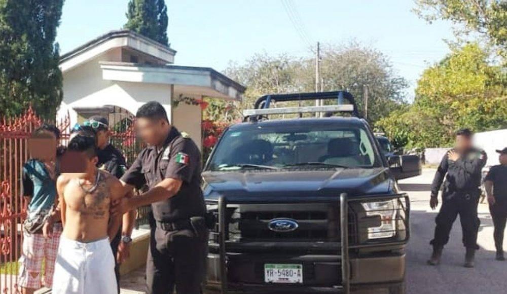 Ladrón ataca a policía y lo detienen con un plomazo