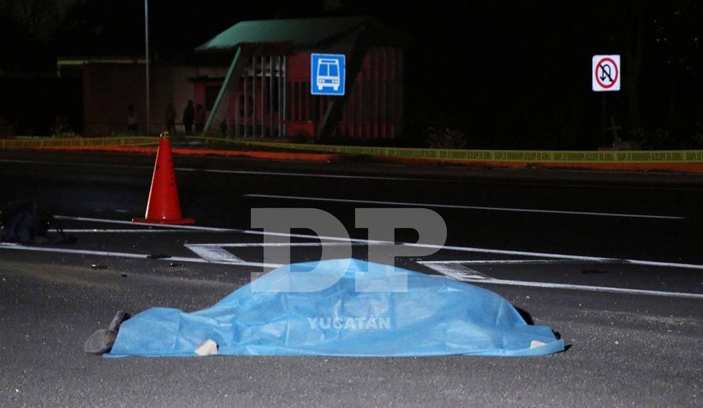 Tragedia en la carretera Mérida-Cancún: intenta cruzar la vía y muere arrollado