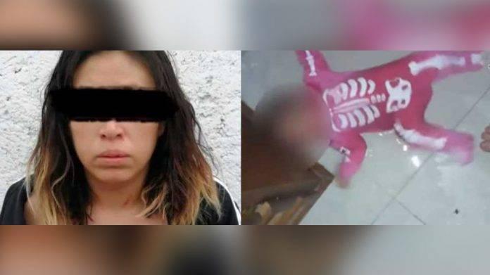 Torturaba a su bebé para enviar los videos a su expareja y obligarlo a regresar