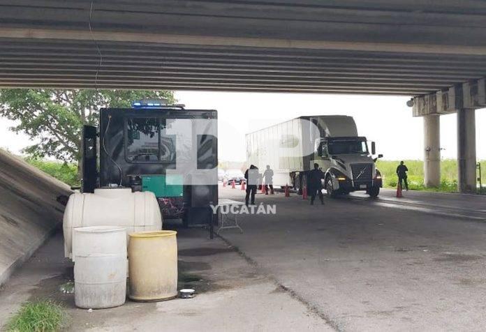 Decomisan 400 kilos de marihuana en retén de la entrada a Mérida