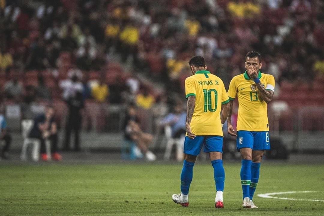 Neymar no pudo formar parte de la Selección de Brasil que ganó la más reciente Copa América