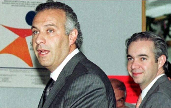 Juan Collado (izquierda)