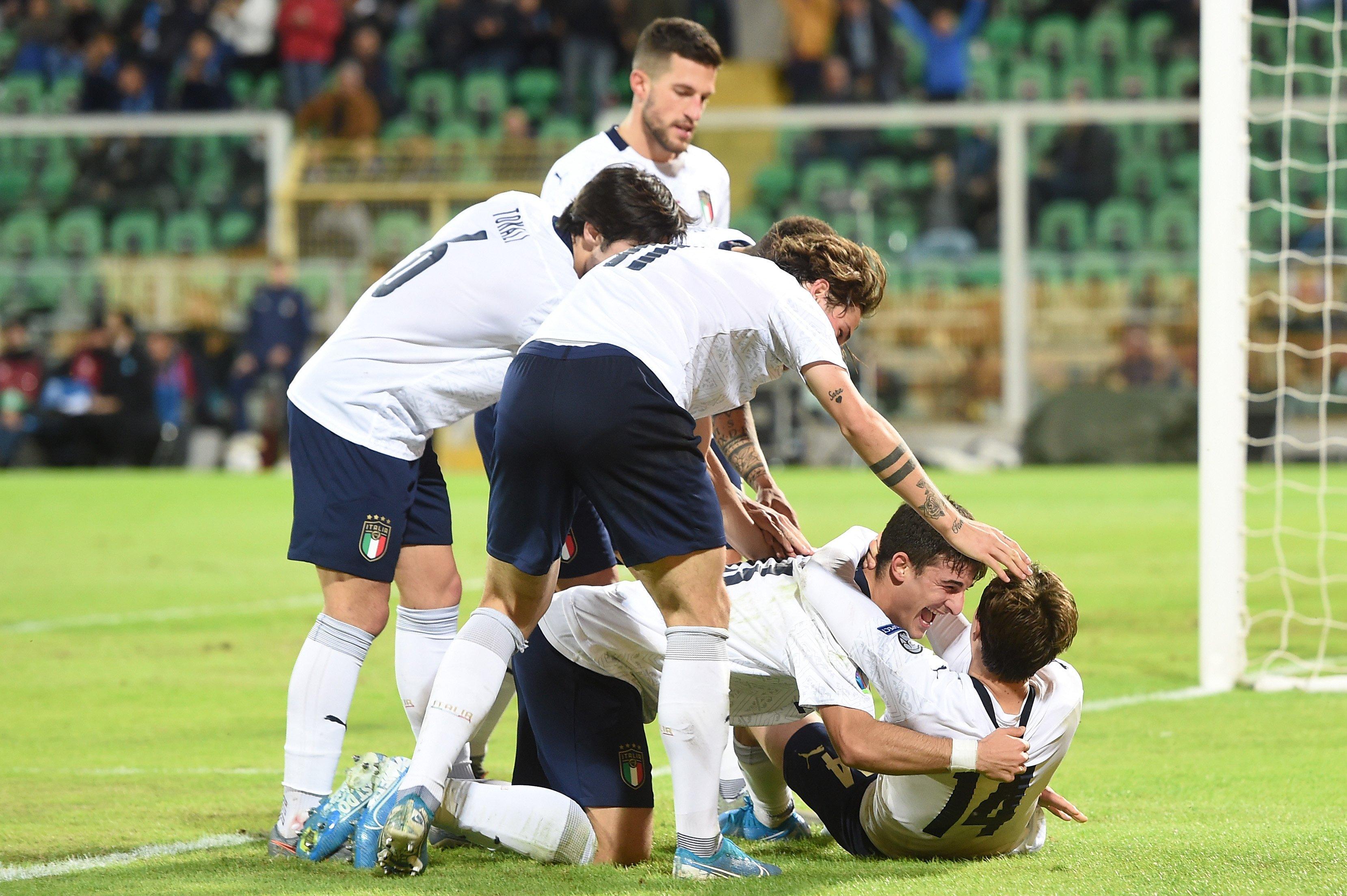 Italia (foto9 y Bélgica son las únicas dos selecciones que han ganado todos sus partidos
